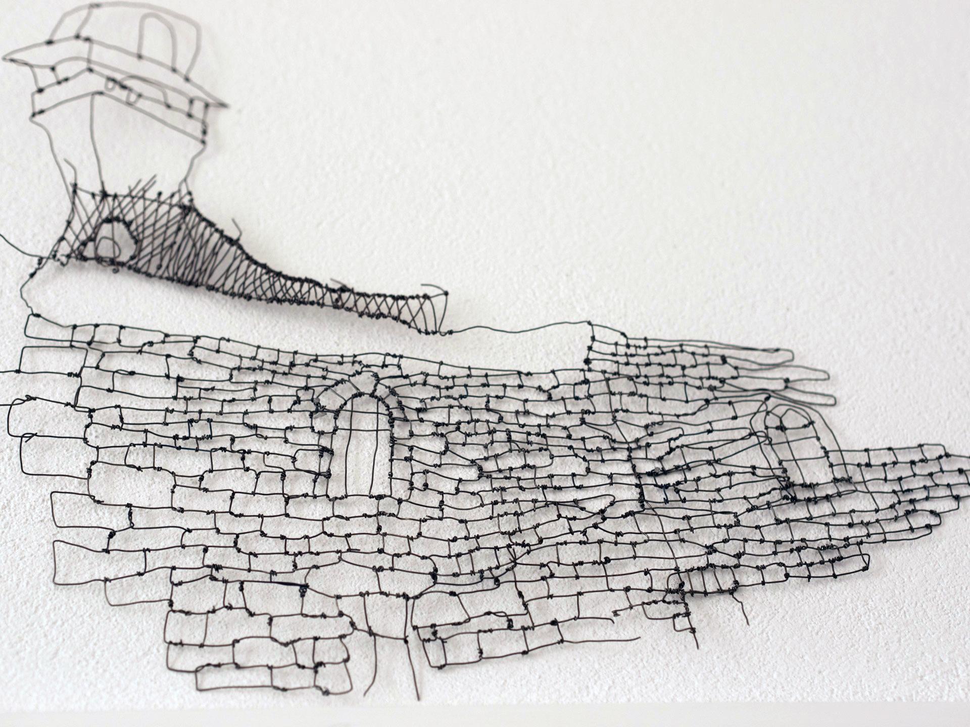 Muur in oude Jeruzalem